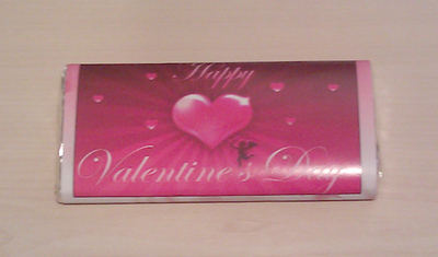 VALENTINE HEART - large chocolate bar 40g