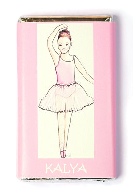 BALLERINA - large chocolate bar 40g