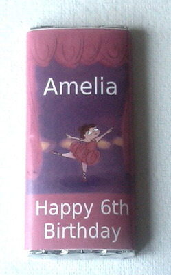 LITTLE BALLERINA ON STAGE - large chocolate bar 40g