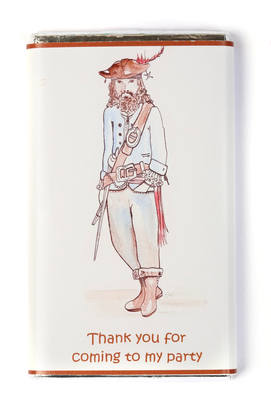 PIRATE - large chocolate bar 40g