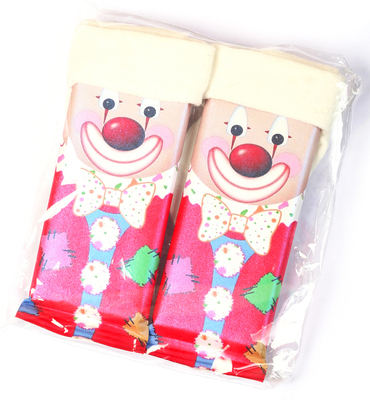 CLOWN SOCKCHOCS - 2 x milk chocolate bars 40g
