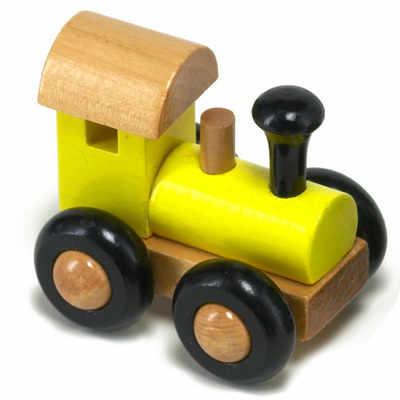 Small yellow train