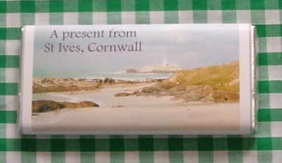 Godrevy Lighthouse (NEW) - 40g milk chocolate bar
