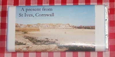 A Winter Sunshine, St Ives - 40g milk chocolate bar