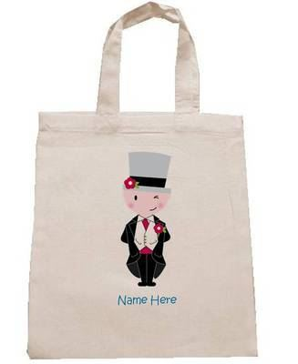 PAGEBOY personalised cotton party bag (no contents included)