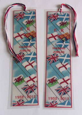 JUBILEE FLAGS - bookmark
