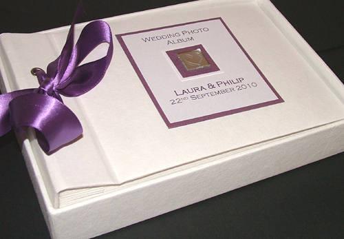 LEVEN purple photo album