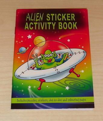 ALIEN activity book