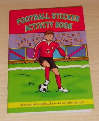 FOOTBALL activity book