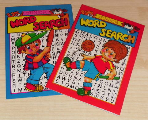 WORDSEARCH books