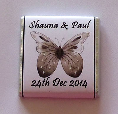 BUTTERFLY (BLACK) - mini 4.5g favour