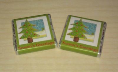 CHRISTMAS TREE - mini 4.5g chocolate bar