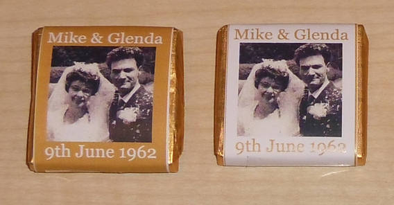 mum and dad chocs