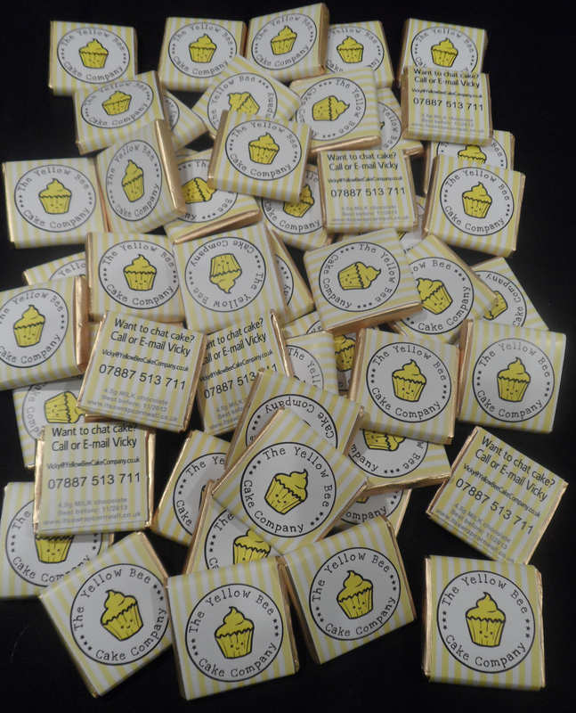 YELLOW BEE CAKE COMPANY mini choc pile