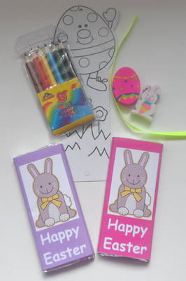EASTER CHOC 'n' COLOUR bag