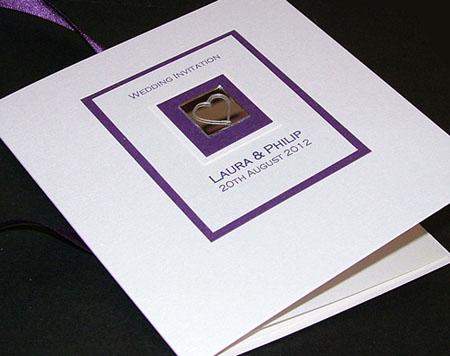 LEVEN purple classic invite cream