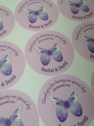 CANDY BAG STICKERS on sheet