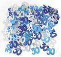 BLUE & SILVER 30 CONFETTI