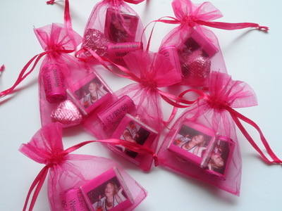 CHOC 'n' HEARTS HEN NIGHT (photo) MIXED FILLED FAVOUR