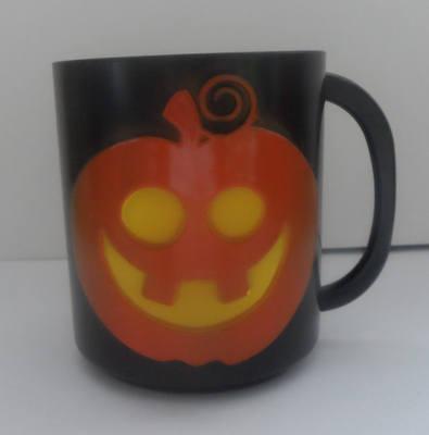 PUMPKIN plastic halloween mug