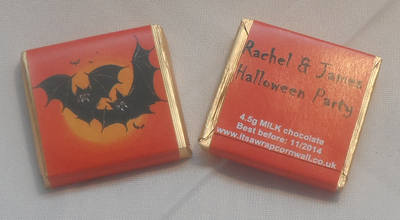 BATS - mini 4.5g chocolate favour