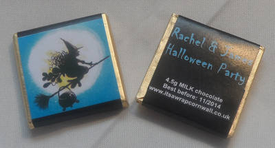 WITCH - mini 4.5g chocolate favour