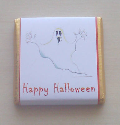 GHOST - mini 4.5g chocolate favour