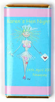 BIKINI BRIDE - large chocolate bar 40g