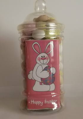 EASTER CHOC 'n' JAR (mini eggs)