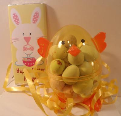 EASTER CHOC 'n' EGG (mini eggs, smarties or jellybeans)