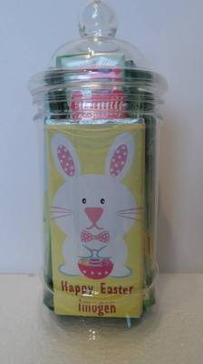 EASTER CHOC 'n' JAR (chocolate lollies)