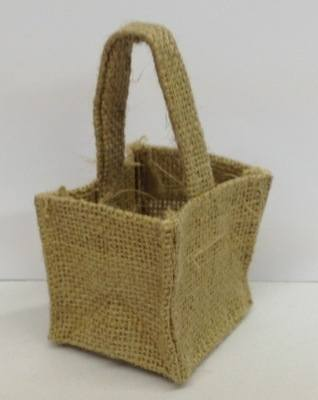 HESSIAN MICRO BAG (natural)