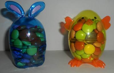 EASTER FILLED CHICK or RABBIT (mini eggs, smarties or jellybeans)