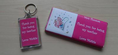 CHOC 'n' KEYRING TEACHER GIFT SET