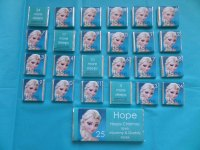 ELSA FROZEN ADVENT (mini chocs, love hearts or mixed)