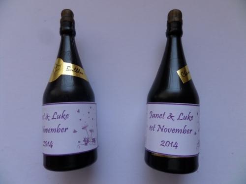 GLASSES (purple) - bubbles (bottle shaped)
