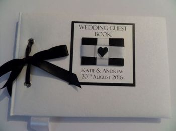 CORNISH FLAG wedding guest book
