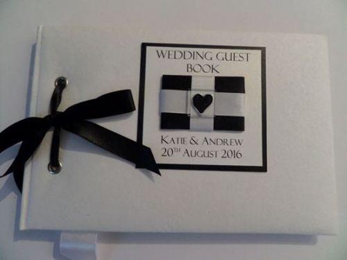 CORNISH FLAG wedding guest book