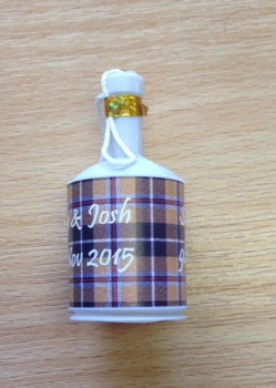 CORNISH TARTAN party poppers
