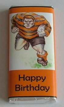 RUGBY - large chocolate bar 40g