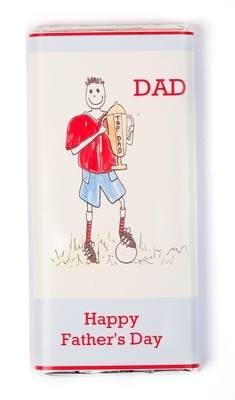 TOP DAD - large chocolate bar 40g