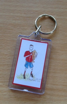 TOP DAD keyring