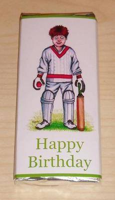 CRICKET - large chocolate bar 40g