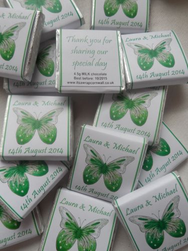 BUTTERFLY (GREEN) - mini 4.5g favour