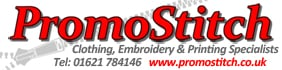 www.promostitch.co.uk, site logo.