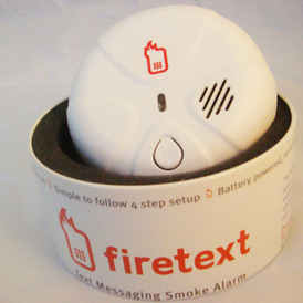 firetext in box