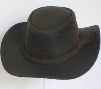 DENTON HATS - CANBERRA Genuine Leather Hat