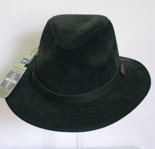 Eureka Australia Black Suede Mens Trilby