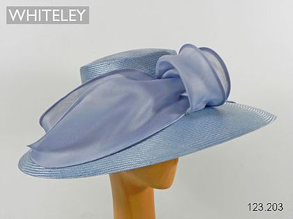Whiteley hat 123/203 in pale silver grey