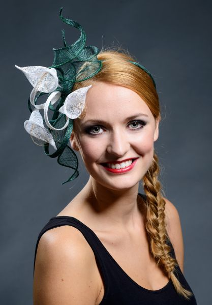 Sinamay fascinator - dates to be decided